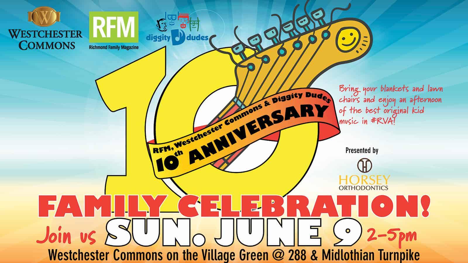 10th Anniversary Family Celebration